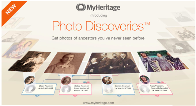 Photo Discoveries comes to MyHeritage (#13)