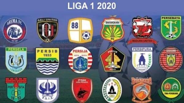 Liga 1 & Liga 2 di pastikan di berhentikan sementara karena virus corona