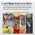 """Nicole Dana - Peintre sur céramique - Participation exposition """"l'art dans tous ses états"""" du 24 au 30 septembre 2019 - Galerie Beauté du Matin Calme - Paris 15e"""