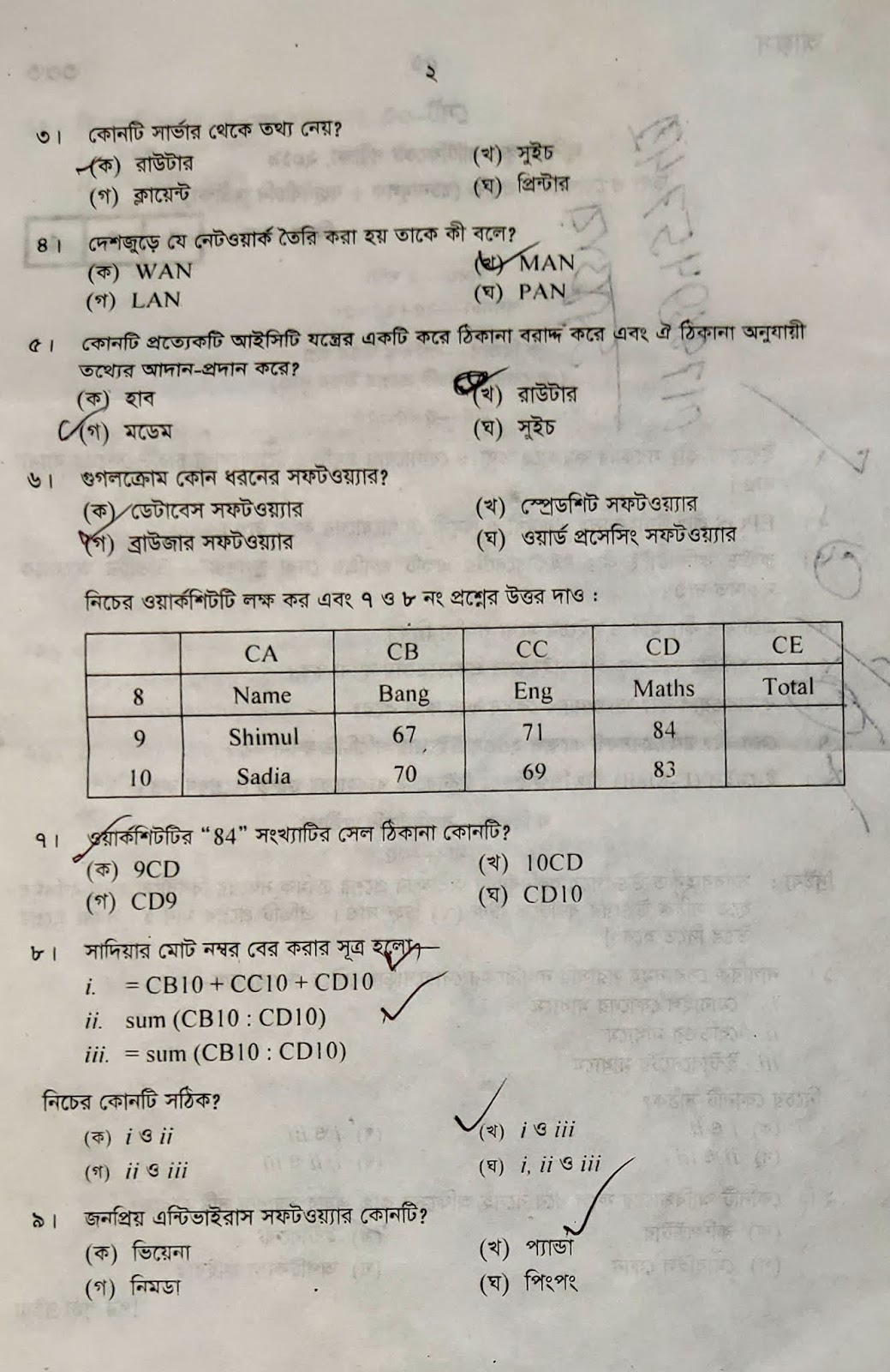 jsc question, jsc suggestion, question paper, syllabus for dhaka board, question hack