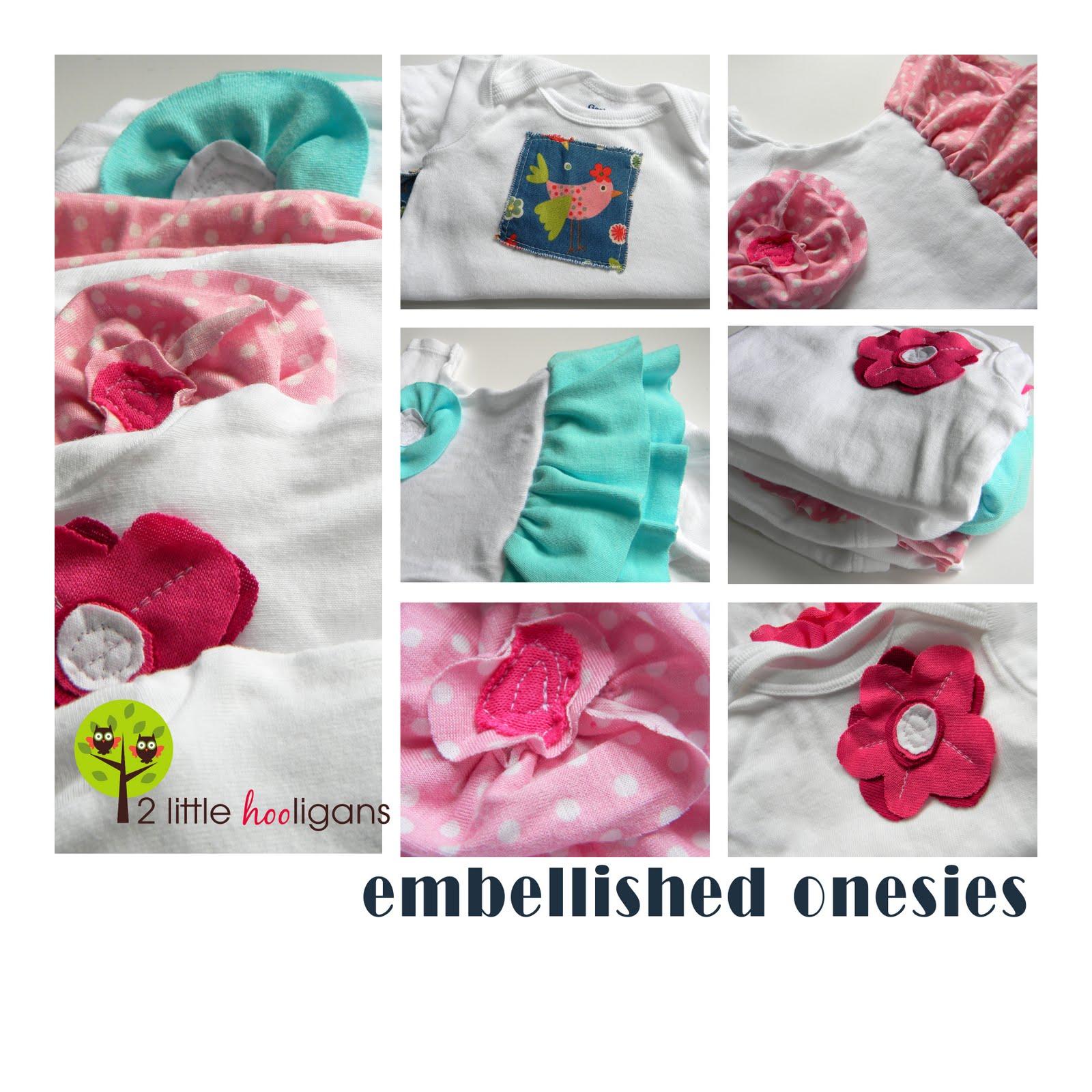 5d6c15f05 Embellished Onesies  Tutorial