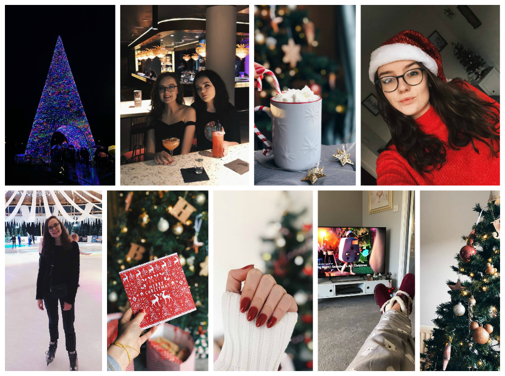 A lifestyle roundup of my week at university featuring all I've bought, watched, eaten, seen and been up to. Featuring my sister's 18th birthday, the prettiest red nails and another ice skating trip