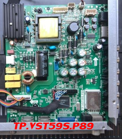 TP.VST59S.P89 Universal LED TV Board Software All Resolutions