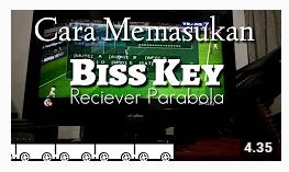 Cara Memasukan kode Biss Key Reciever Parabola MPEG 2