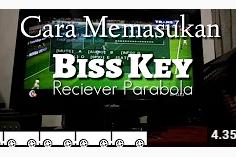 √ Video Cara Memasukan Kode Biss Key Reciever Parabola MPEG 2 Matrix