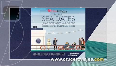 Nace Sea Dates, el primer crucero para singles de 50 años en adelante organizado por Pullmantur Cruceros