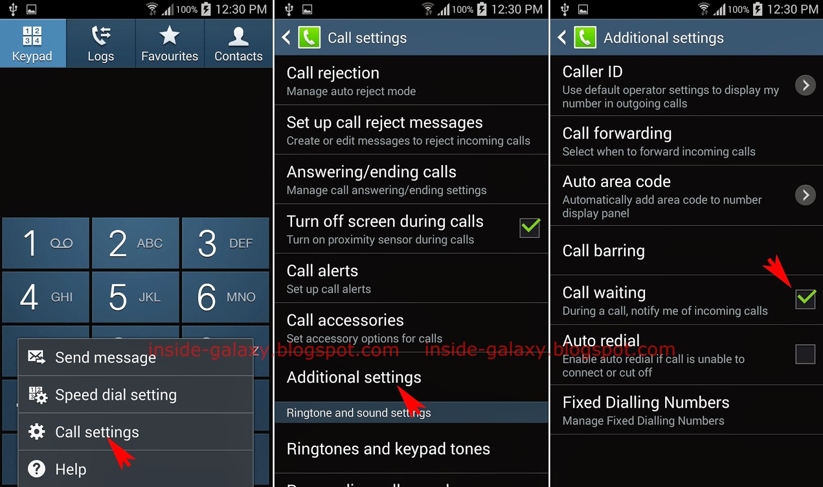 Samsung Galaxy S4: How to Enable and Use Call Waiting in Android 4 4