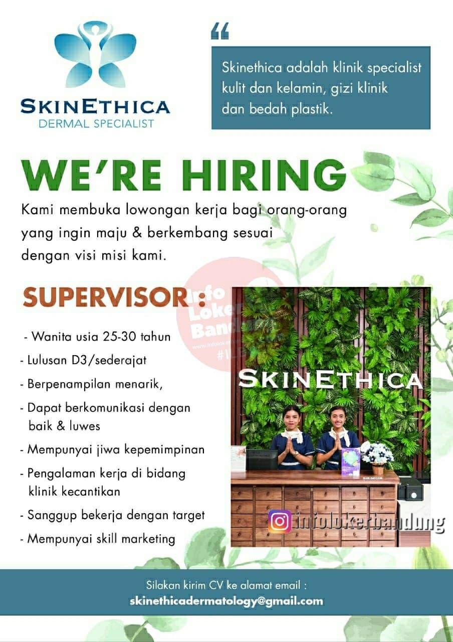 Lowongan Kerja Skinethica Bandung Februari 2021