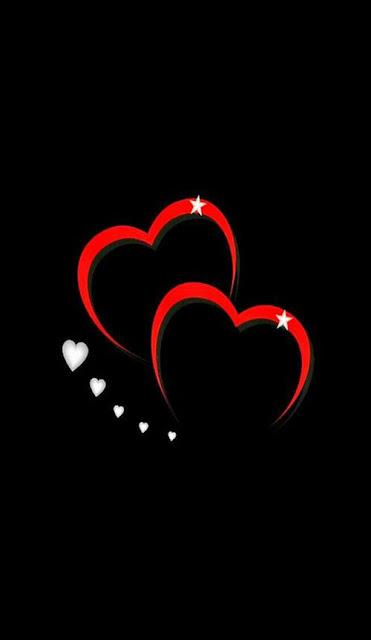 two heart love iphone wallpaper love heart iphone wallpaper
