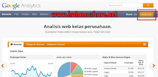 Daftar Google Analytics