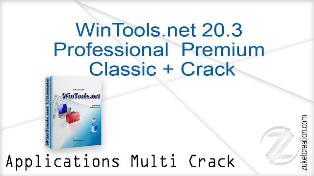 WinTools.net 20.3 Professional  Premium  Classic + Crack