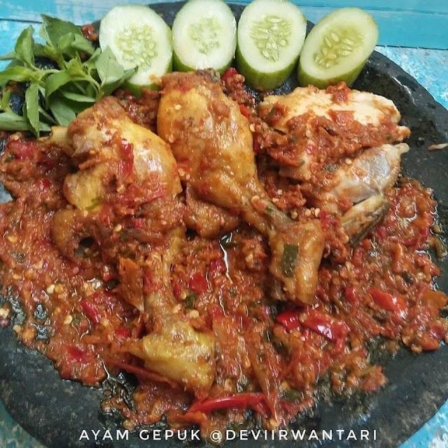 Ayam Gepuk - Resep Olahan Ayam