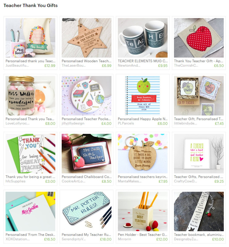 Handmade Teacher Gift Ideas Etsy treasury hazel fisher creations