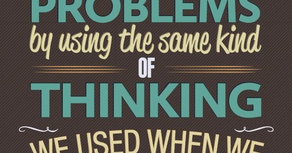 Albert Einstein Problem Quote