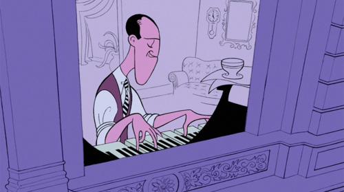 George Gershwin Rhapsody in Blue Fantasia 2000 1999 animatedfilmreviews.filminspector.com