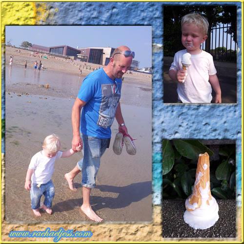 Impromptu visit to the beach
