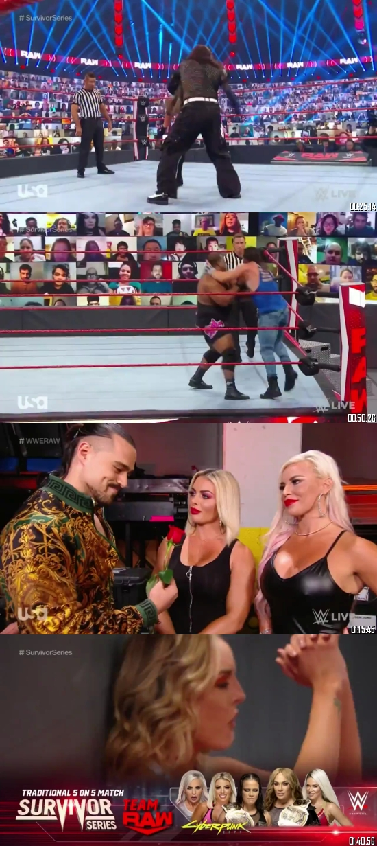 WWE Monday Night Raw 26 Oct 2020 HDTV 720p 480p Full Episode Download