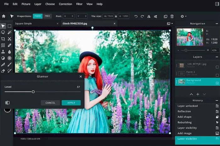 Best Free Photoshop Alternatives Pixlr Editor