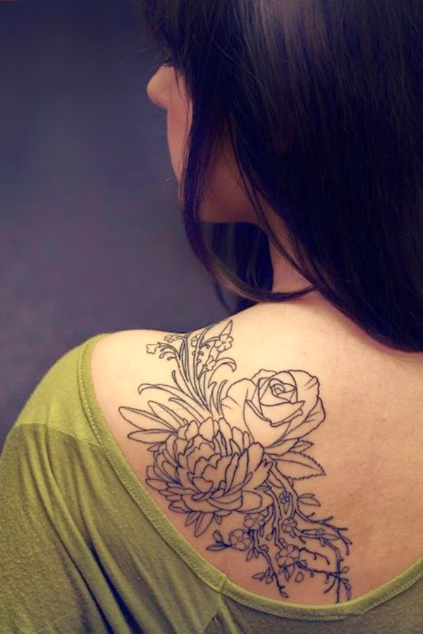 60a3cc8b6 30 Beautiful Feminine Tattoo Designs For Your Inspiration - Fine Art and You