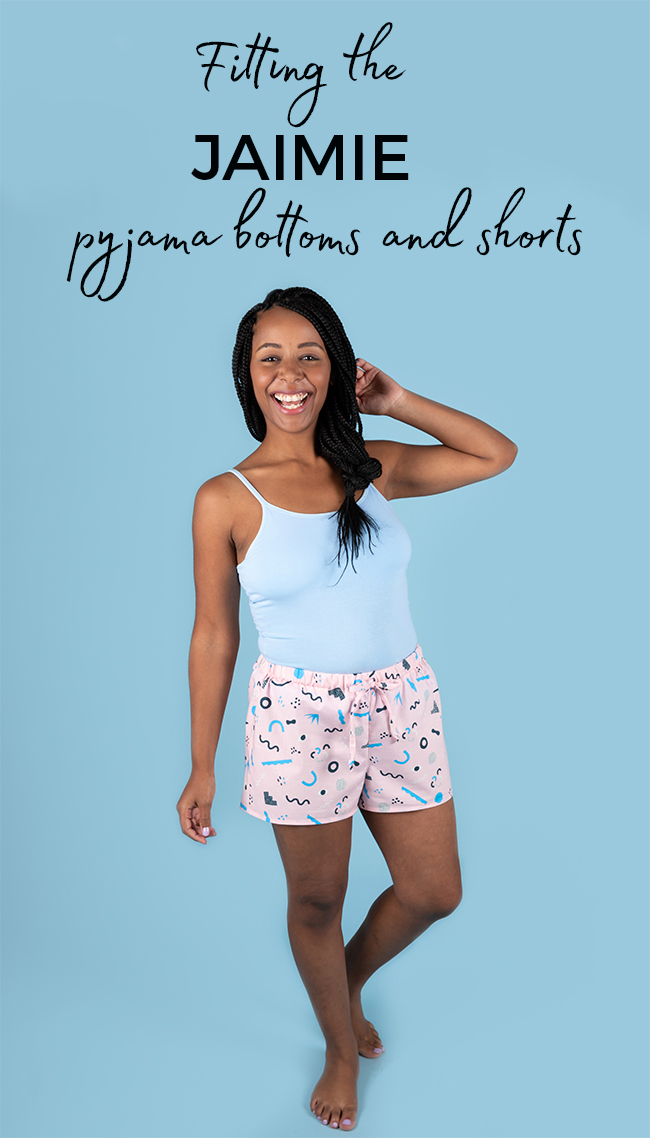 Fitting the Jaimie pyjamas sewing pattern - Tilly and the Buttons