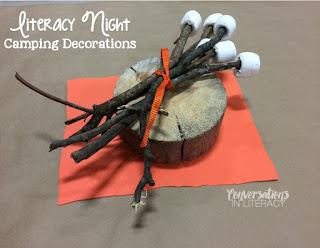 Family Literacy Night Camping Theme