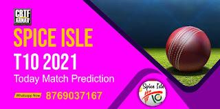 Cinnamon Pacers vs Saffron Strikers 23rd Match Spice Isle T10 100% Sure Match Prediction