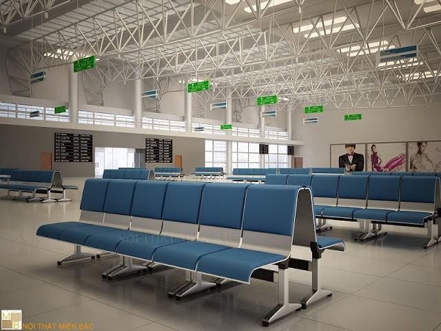 Sở hữu kiểu dáng thiết kế độc đáo, ghế băng chờ nhập khẩu với lưng tựa tự thoải mái giúp cho người ngồi có cảm giác thư thái khi ngồi đợi