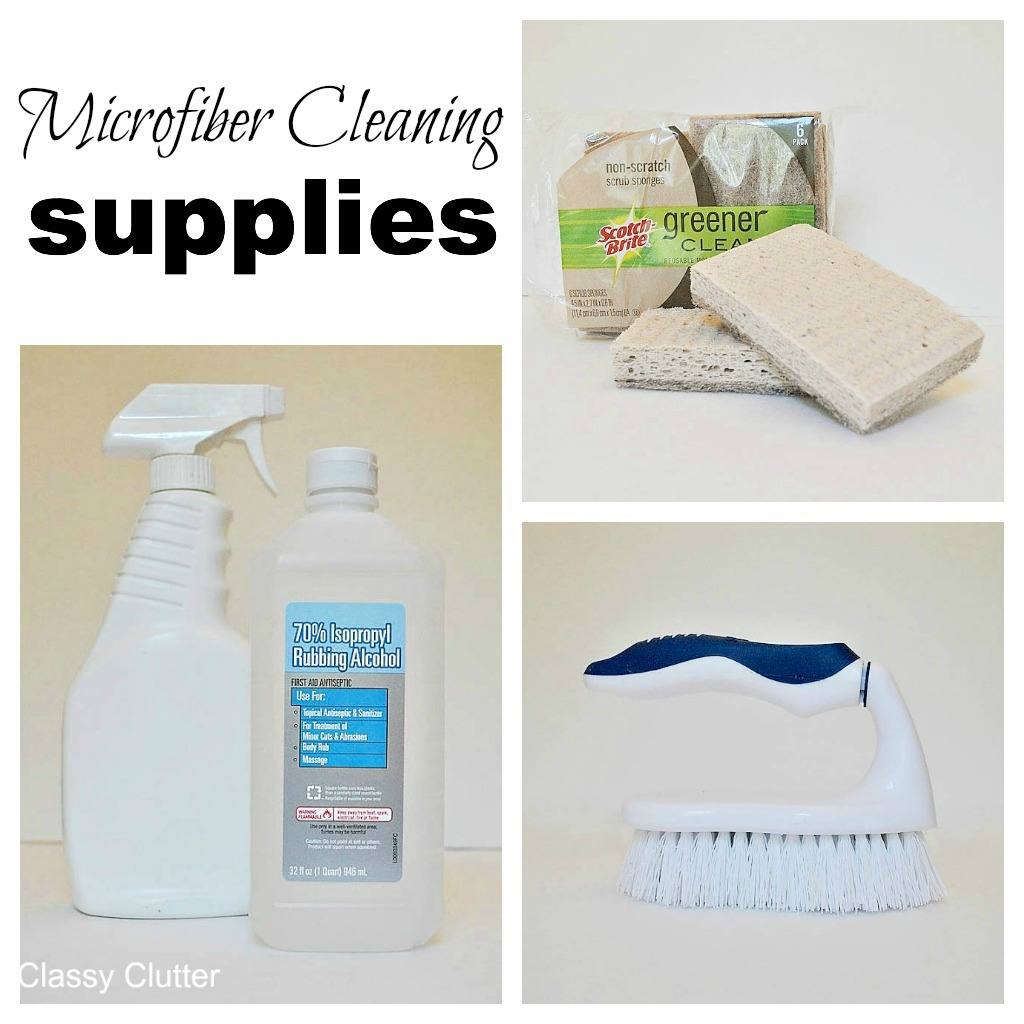 How to clean microfiber with professional results - Classy