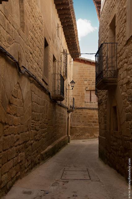 Uncastillo pueblo con encanto Zaragoza