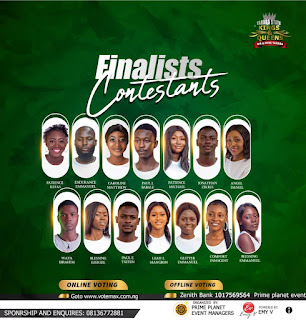14 Contestants Battles For Mr & Miss Taraba Crown, See Grand Prizes And Other Endorsement Deals