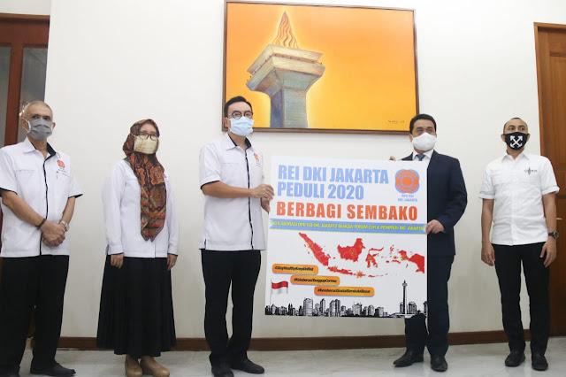 Forum CSR DKI Jakarta Donasikan Paket Sembako