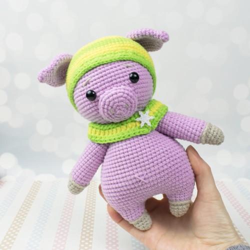 Amigurumi Lucky Pig - Free Pattern