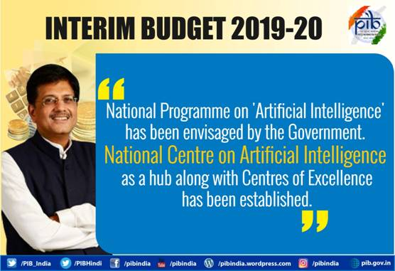 interim-budget-2019-artificial-intelligence