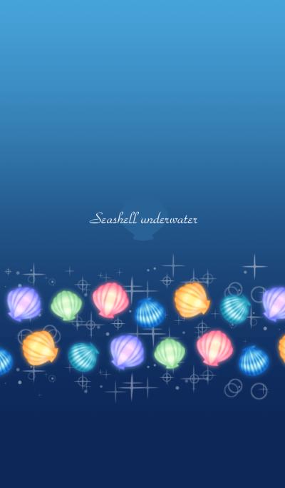 Seashell underwater
