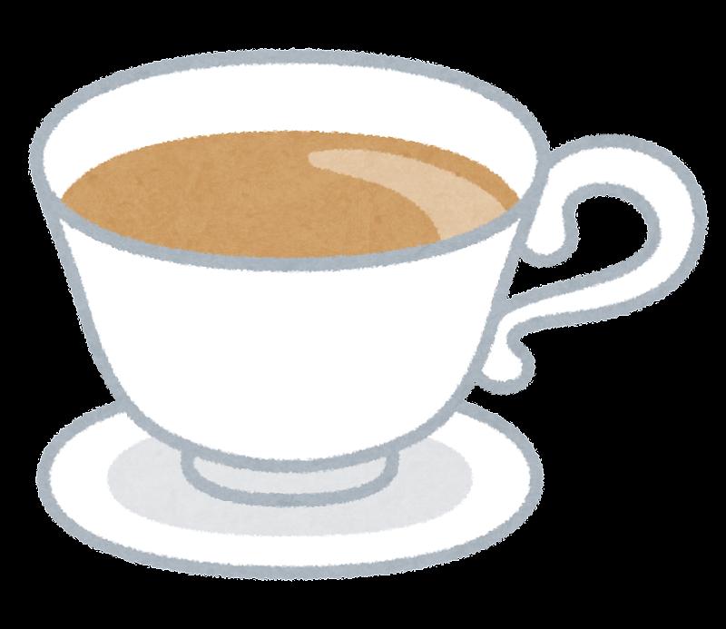 ミルクティーのイラスト紅茶 かわいいフリー素材集 いらすとや