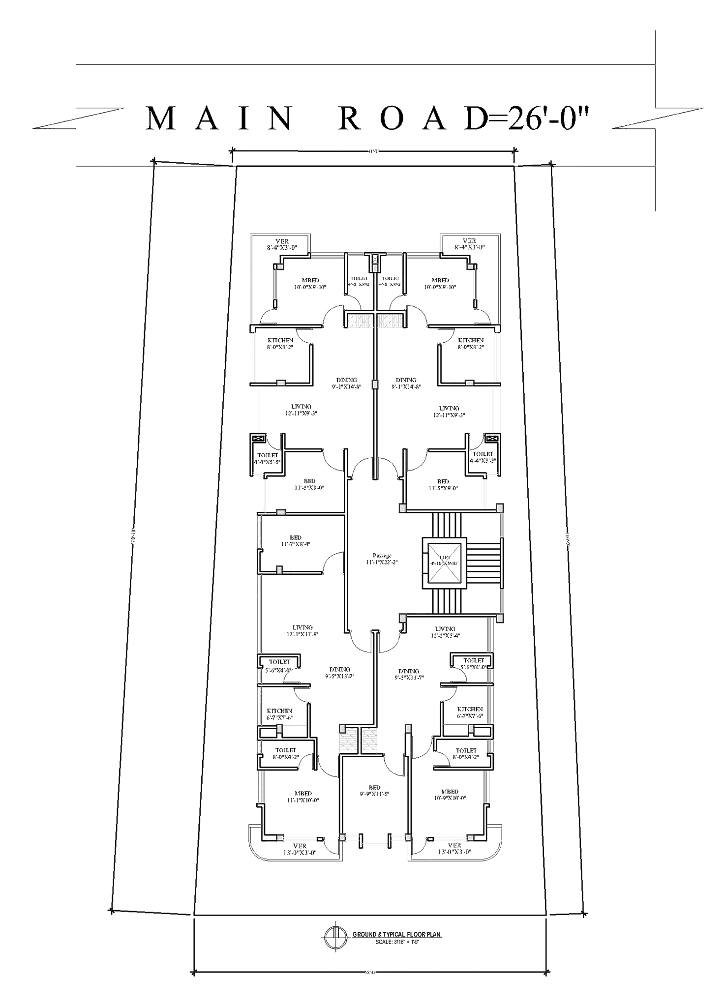first floor plan proposed area