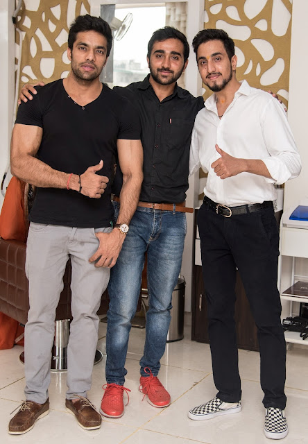 Vicky, Bhanu Rana & Anuj