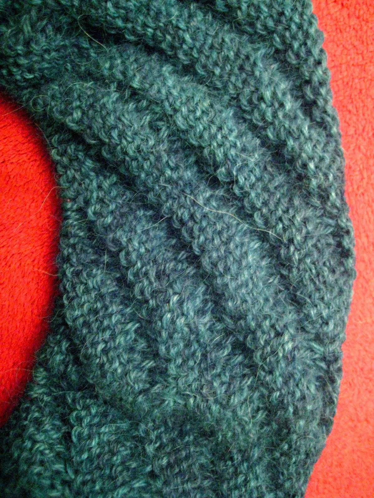 Destiknitions Diagonal Rib Infinity Scarf From Stitch Es Day 4