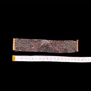 Kare Kristal Boncuk Bileklik ölçü - Nihal'in Rüyası