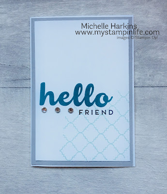 Stampin' Up!_Hello Friend_Stampin' Up! UK