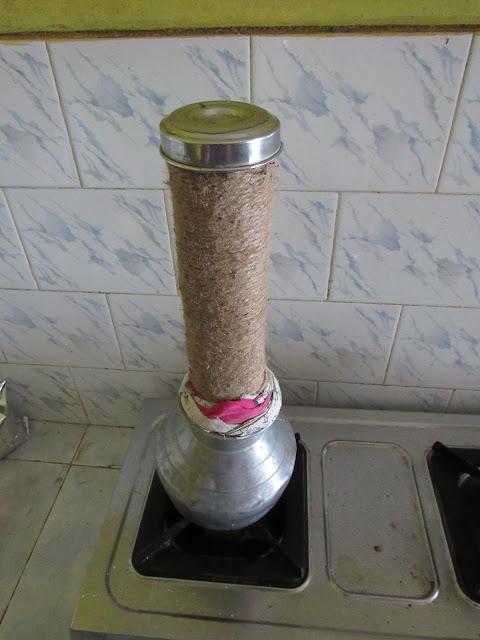 Puttu Maker Bamboo Steamer (puttu kuzhal, Puttu kutti, மூங்கில் நீராவி குழல்  )