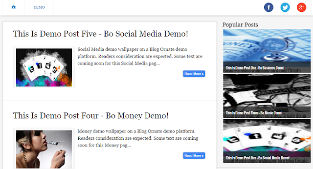 Popular post widget for blogger