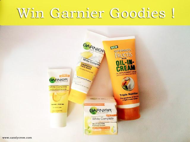 Garnier Gift Hamper Giveaway