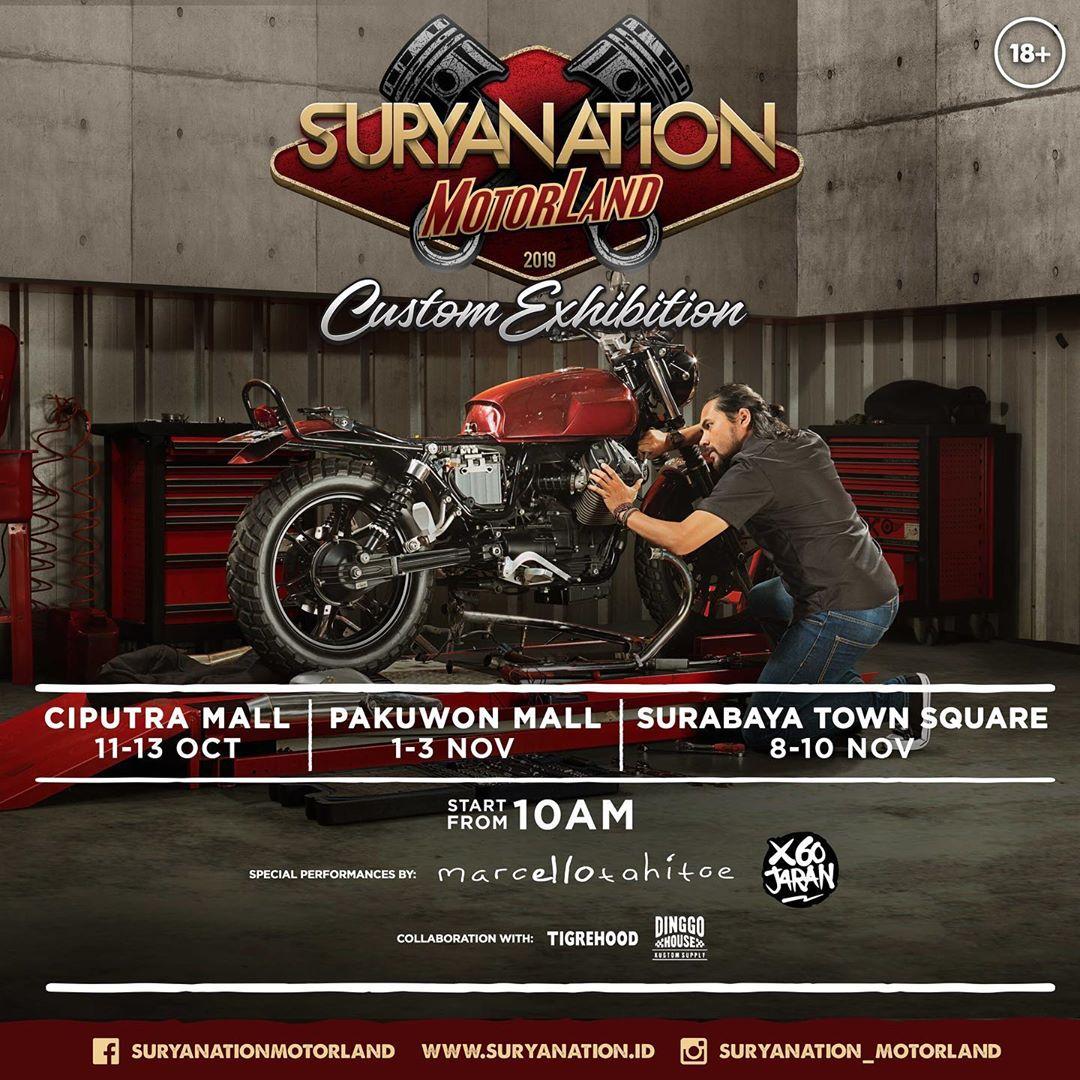 Suryanation Motorland 2019 Custom Exhibition