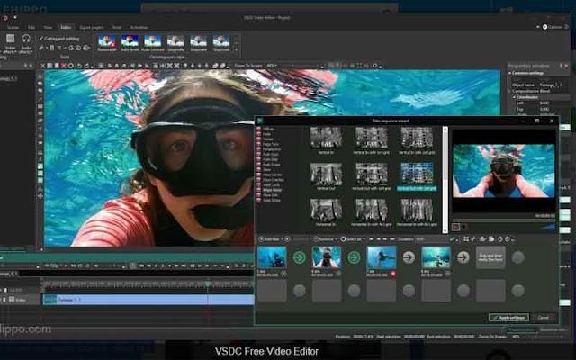 VSDC Free Video Editor 6.3.3.968 - Ứng dụng chỉnh sửa video miễn phí 2019