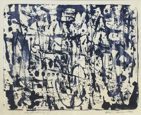 """""""Radical Compositions: AbEx Prints and Paintings"""" exhibition at Childs Gallery"""