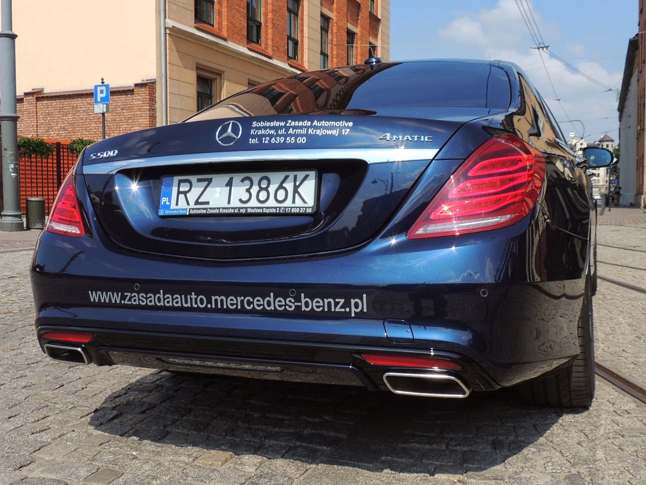 Mercedes S 500 L 4MATIC