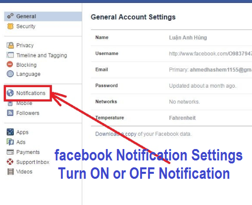 How To Change Your notification settings on Facebook - Facebook Notification settings