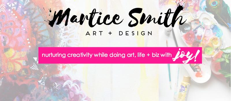 Tutorial Chevron Stamp Martice Smith Fine Art