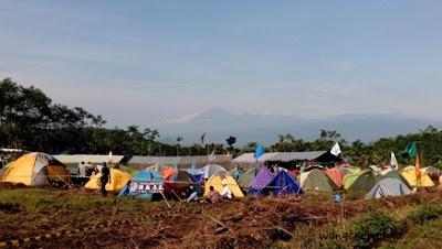 area camping di gunung lemongan lumajang